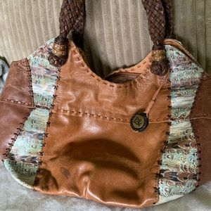 The Sak leather hobo purse